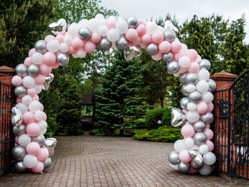 balloon arch for entrence Austin