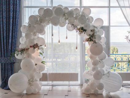 wedding balloon arch Austin